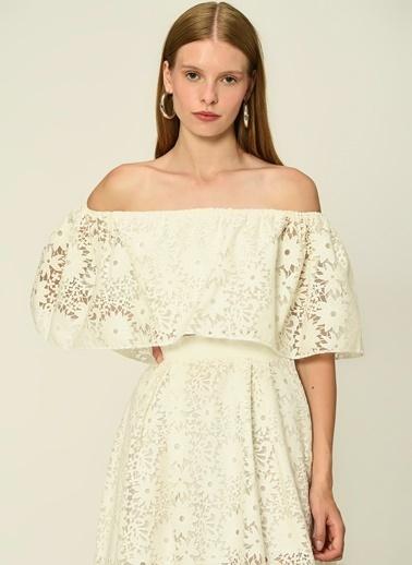 Esra Gürses Gömlek Beyaz